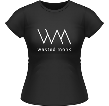 DJ Damen Shirt Wasted Monk